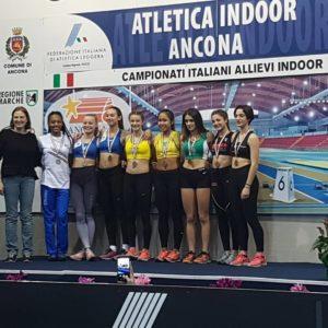 Atitaya Kongkaew sul podio ad Ancona