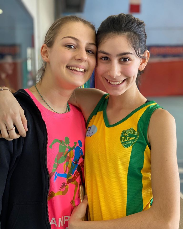 Due cadette in gara a Saronno